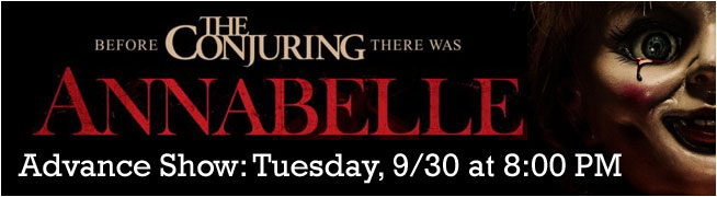 Annabelle Advance Screening