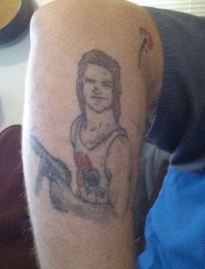 Jack Burton Tattoo