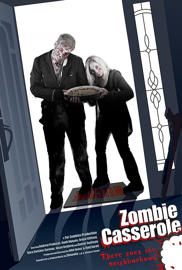 Zombie Casserole Poster