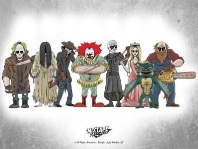 Mixtape Massacre - Characters