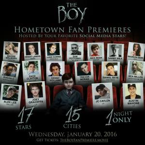 The Boy Screenings