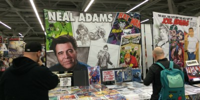 Wizard World CLE 2016 - Neal Adams Booth
