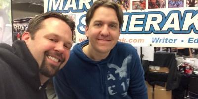 Wizard World CLE 2016 - Chewie & Marvel Comics Marc Sumerak