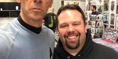 Wizard World CLE 2016 - Cosplay Spock & Chewie