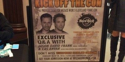 Wizard World CLE 2016 - Kick Off The Con