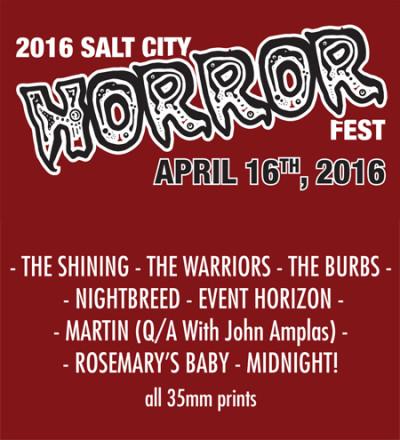 2016 Salt City Horror Fest – April 16th & 17th