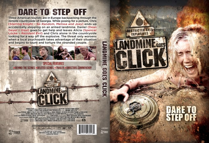 Landmine Goes Click DVD Artwork