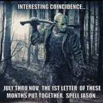 An Interesting Coincidence For Horror Fans