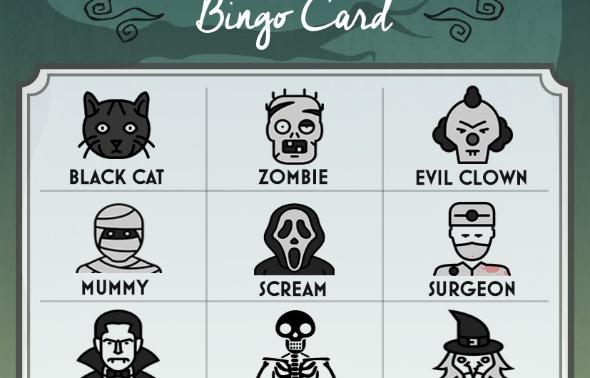 Get Your Halloween Bingo Cards!