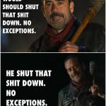 Negan – Man of His Word