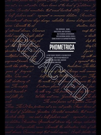 Phometrics Redacted Poster