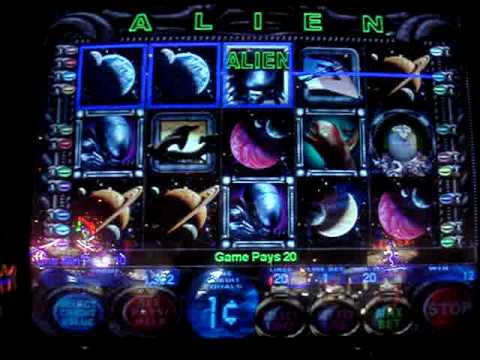 Aliens Slot Machine