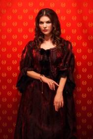 Eliza Bone as Rosamund Goodwin in Reel Nightmare