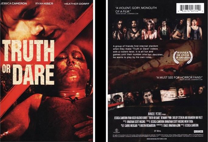 Truth or Dare DVD cover art