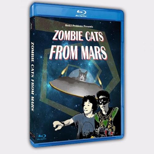 Zombie Cats From Mars - BluRay