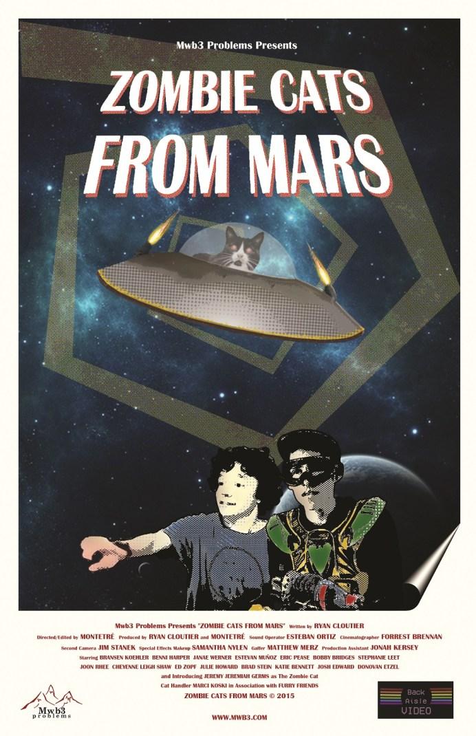 Zombie Cats From Mars - ComicPosterBAV