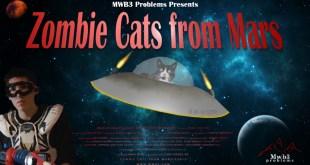 Zombie Cats From Mars - Horizon Poster