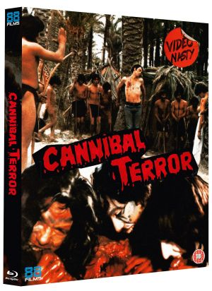 Cannibal Terror 3D Packshot Slipcase