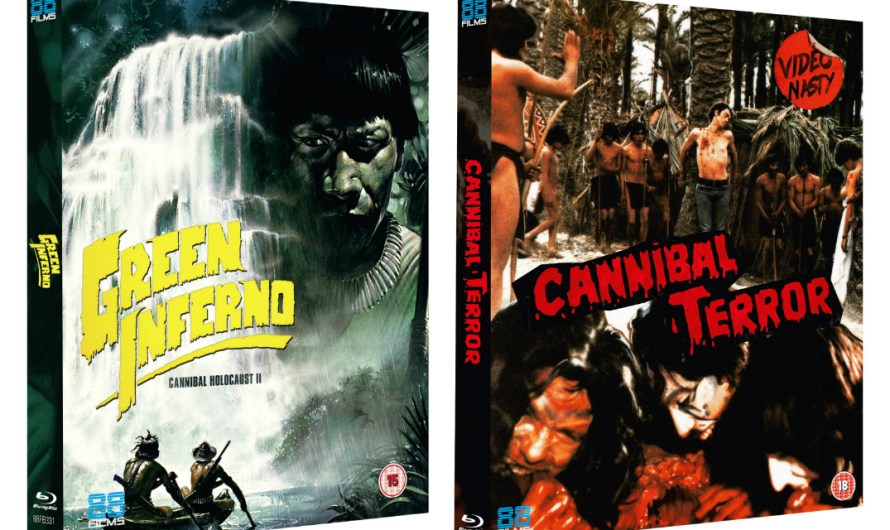 The Green Inferno & Cannibal Terror on UK Blu-Ray March 11th