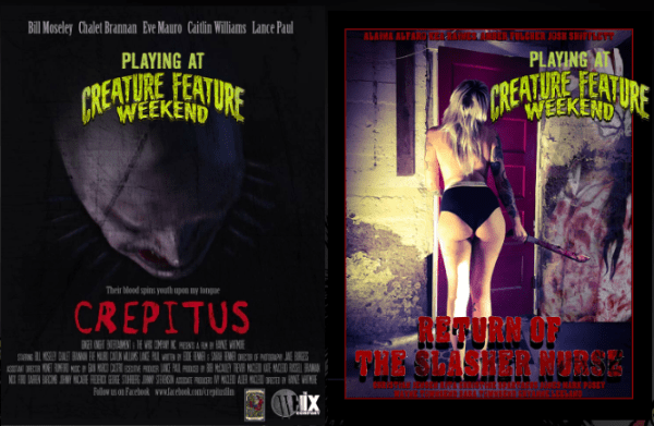 Creature Feature Weekend Crepitus, Return of the Slasher Nurse