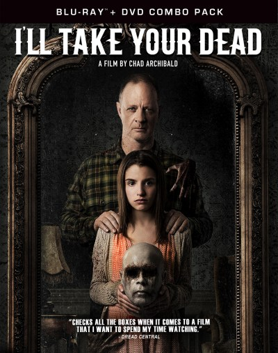 I'll Take Your Dead (Blu-ray-DVD Cover Art)