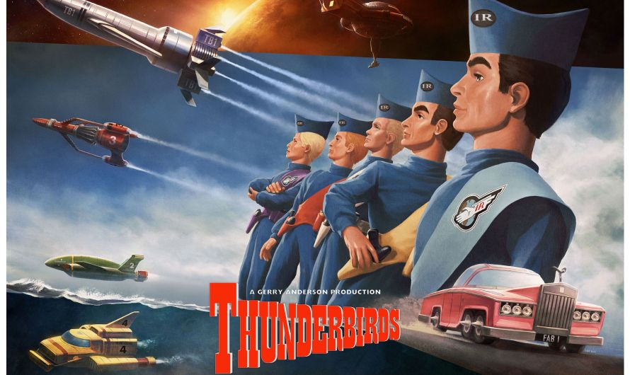 Licensed Gerry Anderson Print and Pin Line