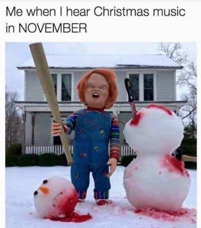 Christmas Music In November