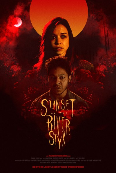 Sunset on the River Styx Poster