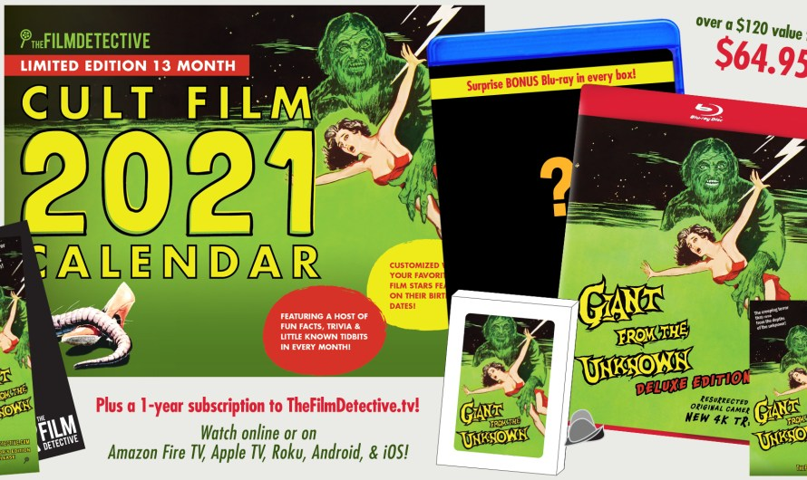 1958's 'Giant From the Unknown' Limited Editions
