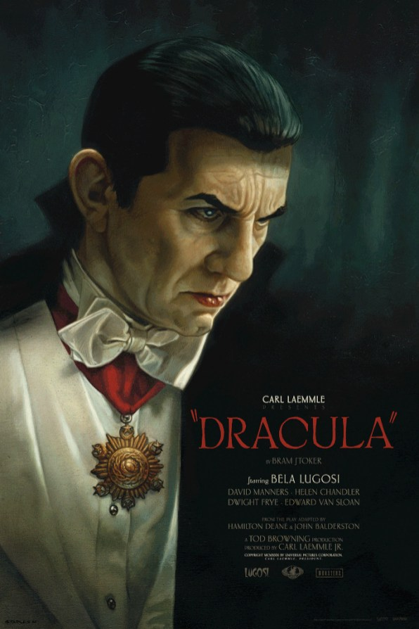 Dracula Greg Staples Movie Poster