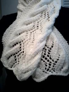 Gossamer Morning scarf
