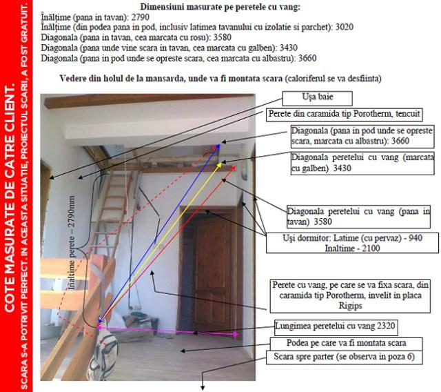 pret scari interioare din lemn cu vang si trepte economice proiect arhitect