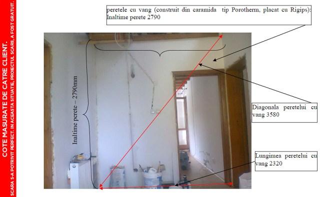pret scari interioare din lemn cu vang si trepte economice proiectare scara