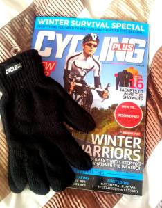 Free gloves with Cycling Plus November 2012 issue
