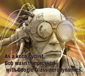 Strava on Google Glass. How long until the Google brain implant?