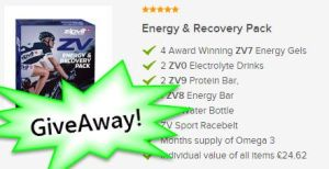 Win a FREE ZipVit Energy and Recovery Pack (worth about £25)
