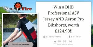 DHB GiveAway Contest: Win a Professional ASV Cycling Jersey AND Aeron Pro Bibshorts, worth £125