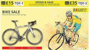 Tour de France 2015: bike shop TdF coupon codes and deals you don't want to miss out on.