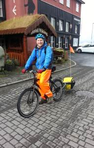 Cycling in Iceland