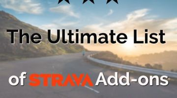 New: The Ultimate List of Strava Add On sites