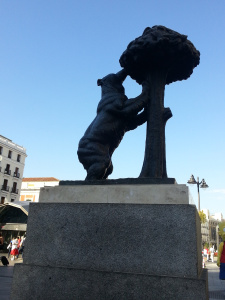 the familiar symbol of Madrid