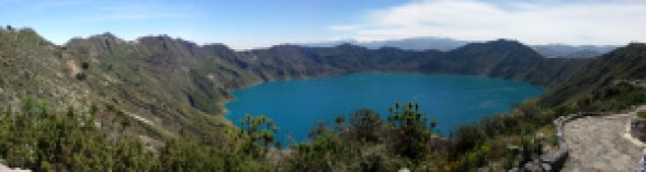 Latacunga and the Quilotoa crater lake