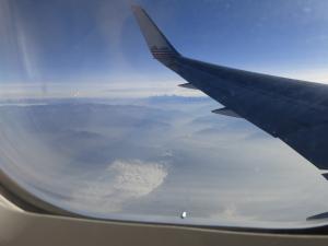over Peru