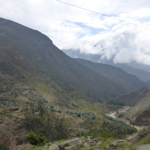 The Andean foothills
