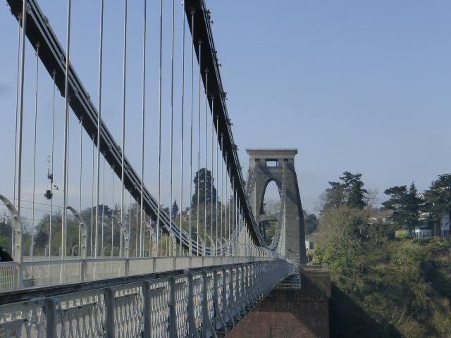 photo walk through Bristol: the clifton suspension bridge