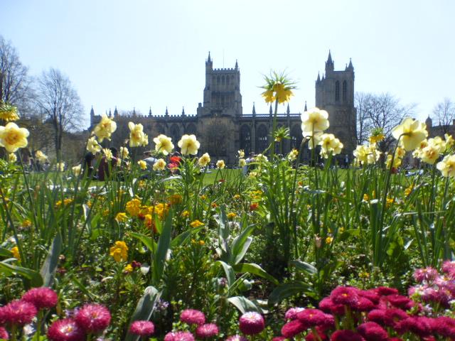 photo walk through Bristol: the cathedral