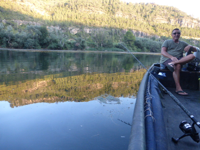 fishing on the River Ebro