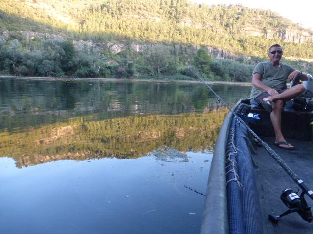 fishing on the River Ebro