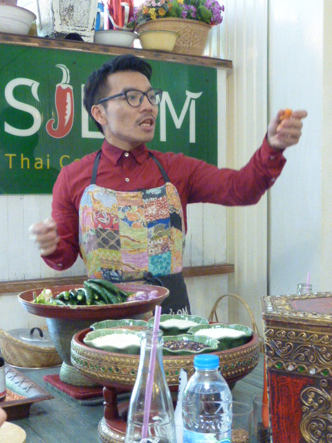 Jay from the Silom Thai Cooking School