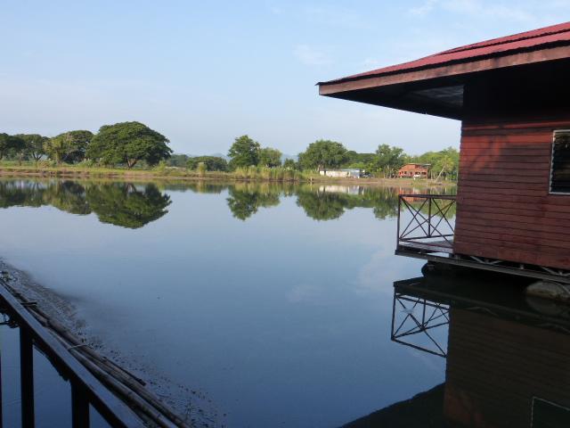 Tara Raft guest house near the Bridge over the River Kwai